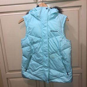 Columbia down puffer vest